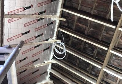 Plafond Badkamer Tijdens